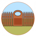 Garden fencing and walling, Haverhill, Suffolk