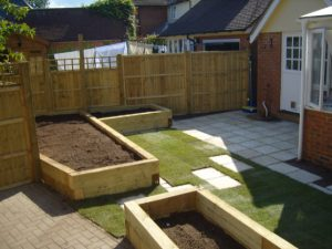 lawn turf and Raised Flower beds, Country Gardens and Landscapers in Haverhill, Suffolk