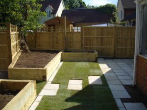 Raised beds, lawn turfing, patio laying, Landscapers in Haverhill